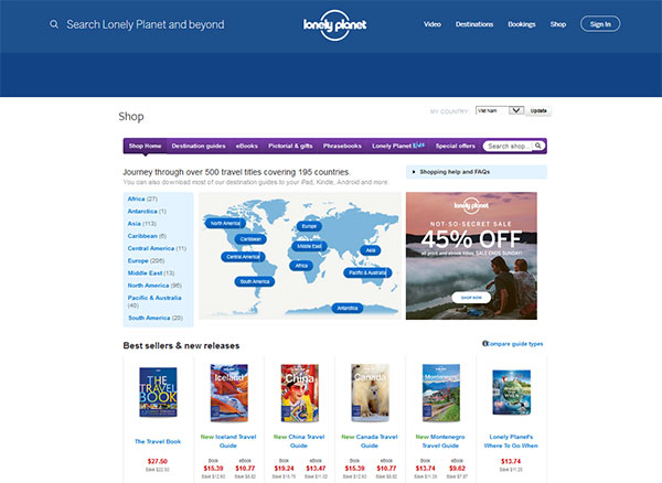 Lonely Planet review