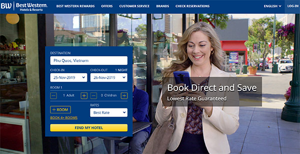 Best Western Hotels and Resorts review
